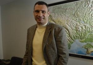 Кличко просит гражданское общество дать оценку закону о выборах