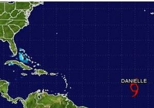 В Атлантике сформировался тропический шторм Даниэль