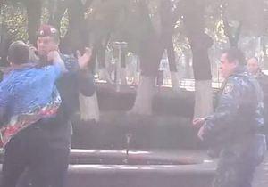 Одесская милиция отрицает, что студент избил двух беркутовцев