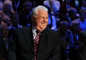 Кравчук выступает за назначение Медведчука генеральным прокурором