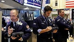 Фондовый рынок США достиг докризисных показателей