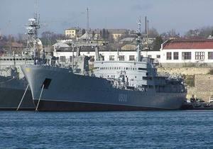 Корабль ВМС Украины Донбасс впервые вышел в море после ремонта