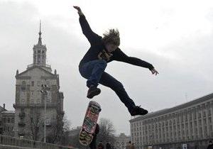 В Киеве открыли первый скейт-парк