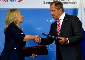 Саммит АТЭС: Клинтон позавтракала с Лавровым блинами с икрой