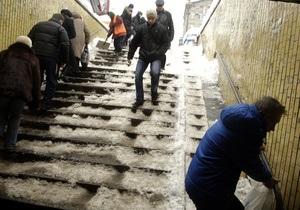 СМИ: Пострадавшие от гололеда киевляне не хотят судиться с мэрией