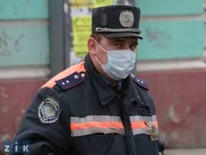 Во Львовской области 400 милиционеров заразились вирусной инфекцией