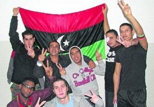 Ливийских повстанцев сегодня выписали из госпиталя в Киеве