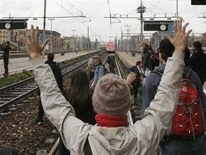 Итальянские студенты протестуют против реформы образования