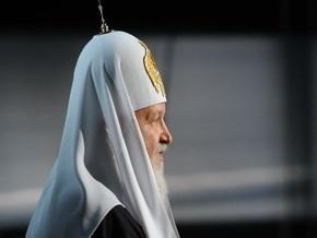 Патриарх Кирилл считает церковный раскол в Украине причиной всех проблем