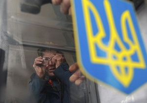 выборы мэра Василькова - К одному из избирательных участков в Василькове подвезли более 20 человек спортивного телосложения, назвавшихся журналистами - СМИ