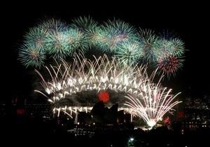 В Сиднее посмотреть на праздничный салют собрались 1,5 миллиона человек