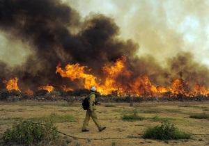Падение самолета стало причиной лесных пожаров в заповеднике на Аляске