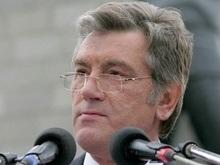 Вместо ежегодного послания нардепам Ющенко обратился к СМИ