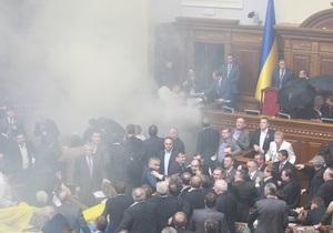 Чорновил: Депутаты могут пронести в парламент даже бомбу