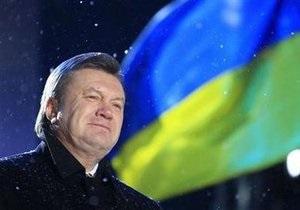Янукович: Мои первых пять лет позволят посмотреть людям в глаза