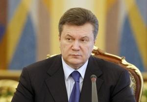 Янукович: Строительство Южного потока является шантажом и вызовом для Украины