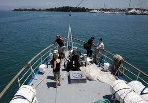 В Греции пресекли выход в море Флотилии свободы