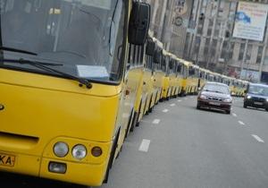 Глава киевской ГАИ заявил, что маршрутки в центре нужно заменить автобусами