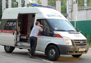 В Донецкой области годовалая девочка осталась жива, выпав из окна пятого этажа