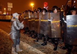 Белорусский оппозиционер получил четыре года колонии за участие в беспорядках после выборов