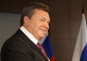 Янукович: Должностные лица будут декларировать доходы своих ближайших родственников