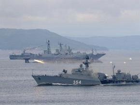 Корабль ВМФ России случайно обстрелял поселок в Ленобласти