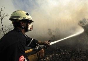 Из-за лесного пожара на Ибице прошла массовая эвакуация туристов