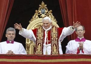 Папа Римский призвал немедленно прекратить войну в Ливии
