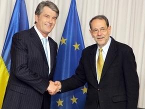 Ющенко провел встречу с Соланой