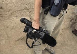 В Полтаве охранники рынка избили оператора за сюжет