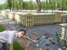 В миниатюрном Киеве появились новые постройки