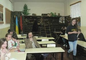 В одной из школ Львова построили партизанский схрон
