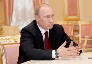 Рейтинг Путина за неделю вырос на 4% - ВЦИОМ