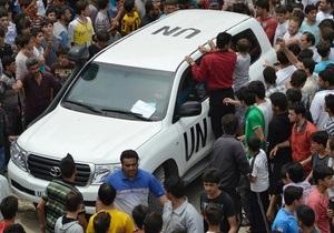Глава миссии ООН в Сирии: Наблюдателей не пускают к месту массовой резни в Хаме