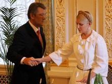 Ющенко и Тимошенко отбыли на запад страны
