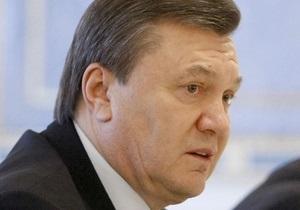 Янукович назвал заданием работников ЖКХ ускорение реформирования отрасли