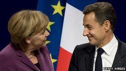 Сегодня Меркель и Саркози объявят свой план выхода из кризиса