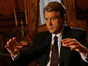 Ющенко пообещал подписать все законы, которые нужны для МВФ
