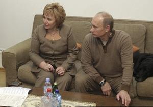Путин развелся: жена Людмила получит половину страны. Соцсети бурно отреагировали на заявление президента России