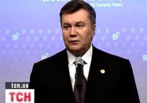 Янукович сообщил подробности встречи с Путиным