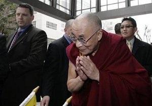 Далай-Лама прибыл в США для встречи с Обамой