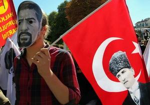 Убийство полицейским протестующего: В Анкаре массовую демонстрацию возле суда разогнали водометами