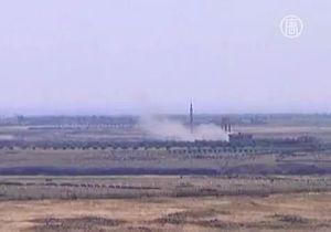 Израильские ВВС открыли ответный огонь по сектору Газа