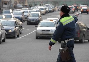 С 1 ноября в Киеве будет ограничено движение транспорта на 77 улицах