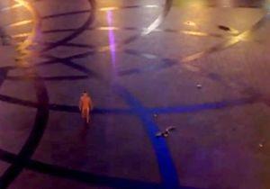 Во дворе Арена-Сити гулял обнаженный мужчина