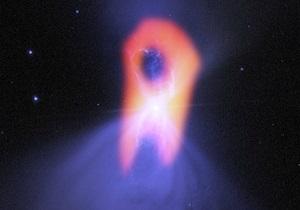 Новости науки - космос - туманность Бумеранга: ALMA сфотографировала призрачные очертания самого холодного места во Вселенной