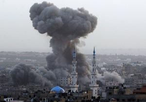 Израиль после ракетного обстрела нанес ответный удар по сектору Газа