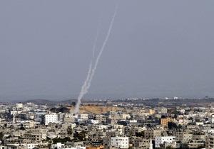 Израиль - ракета - По большому курортному городу Израиля выпустили несколько снарядов