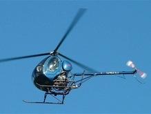 На границе задержали украинца с вертолетом