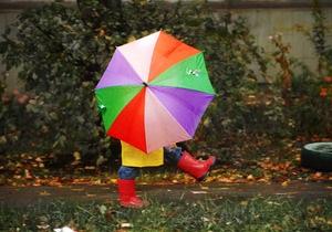 погода в Украине - В понедельник в Украине ожидается дождь и туман